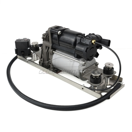 Air Suspension Pump Compressor & Bracket For BMW 5 Series E61 37 20 6 792 855 37106793778 37 10 6 793 778 37206792855