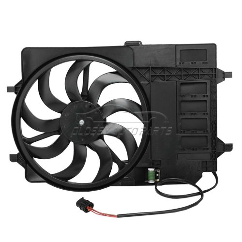 Radiator Fan For Mini R50 R52 R53 17 10 1 475 577 17 10 7 529 272 17 11 7 541 092 17101475577 17107529272 17117541092