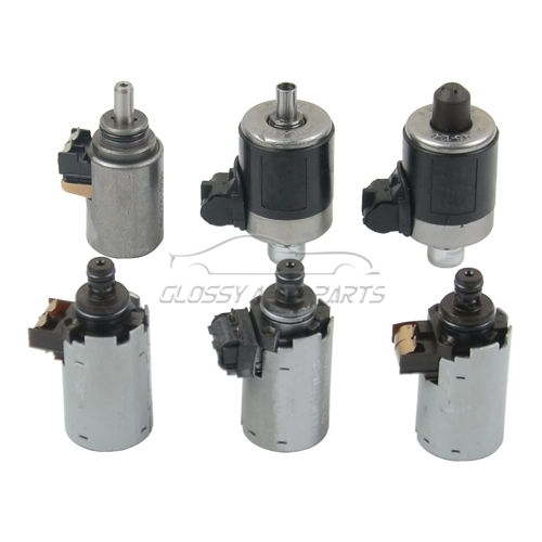 Transmission Solenoid Kit 6 pcs For Mercedes Benz C230 C240 C280 C32 1402770398 1402770435 1402770535 0260130015 722.6 7226