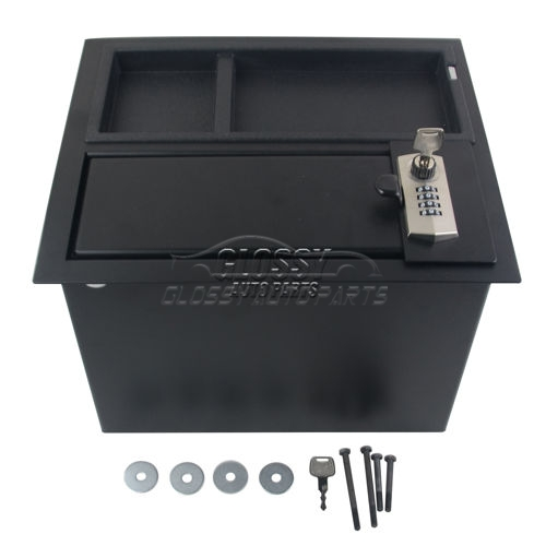 Black RHD Center Console Safe For Toyota Tundra 2014-2019 00016-34174 0001634174